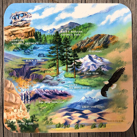 nature parks sticker outdoors