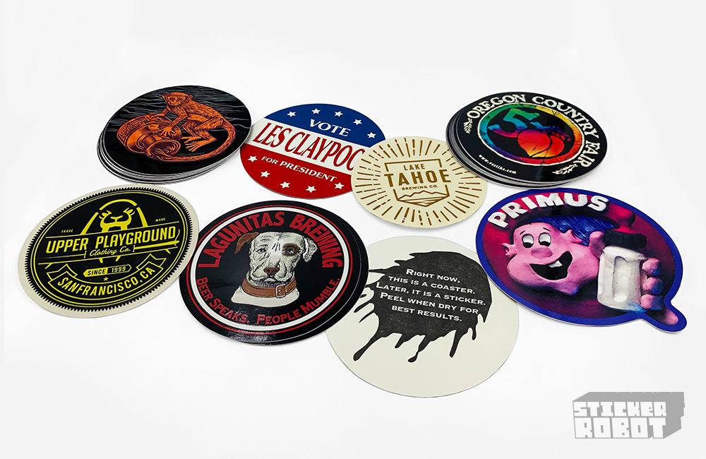 Beer Coaster Stickers