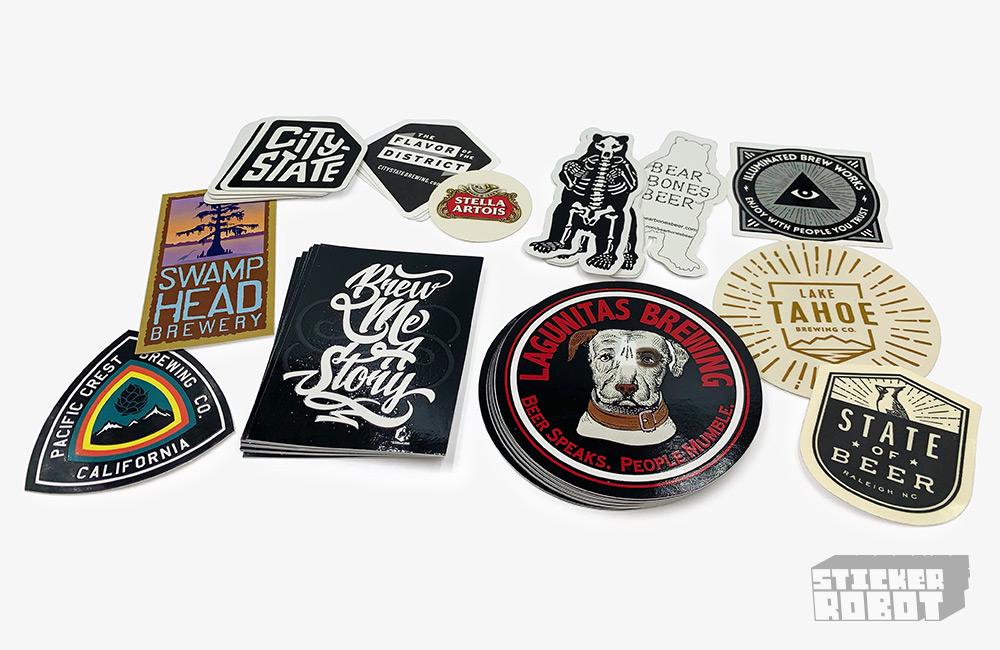 Beer Label Stickers