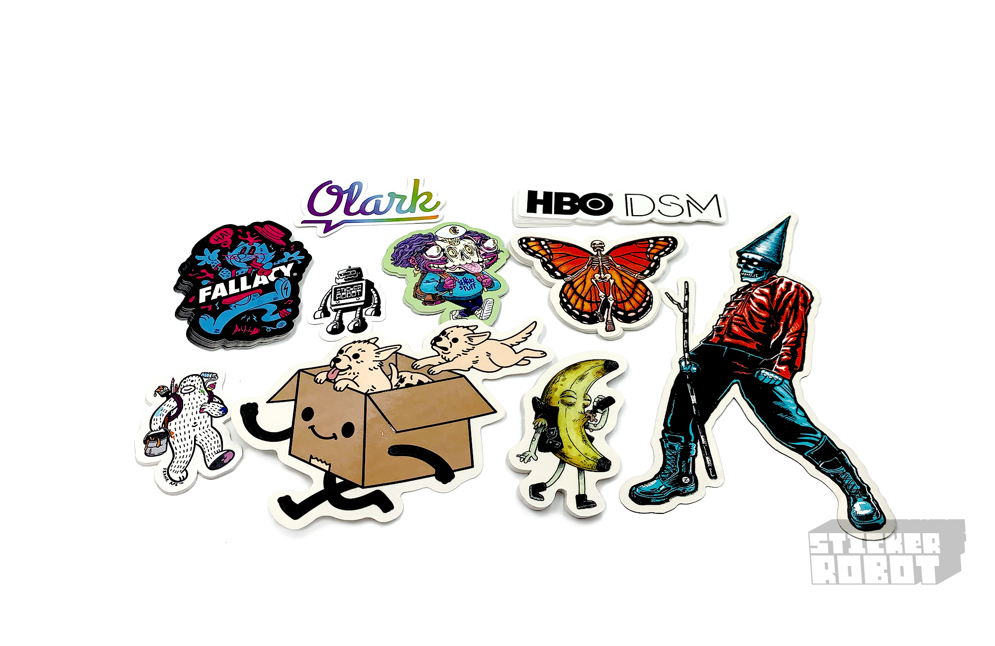 Custom Shape Sticker