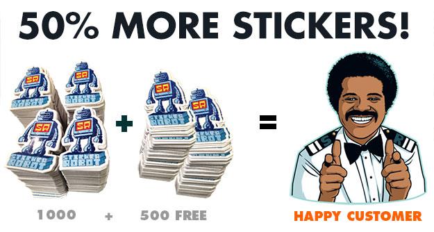 500-free-stickerobot