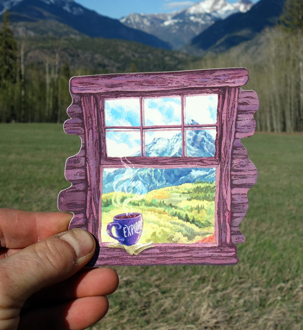 Outdoor Window Nature Sticker