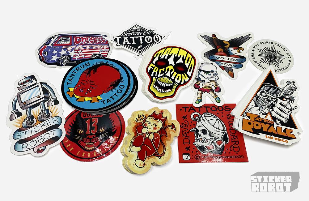 Custom Tattoo Stickers