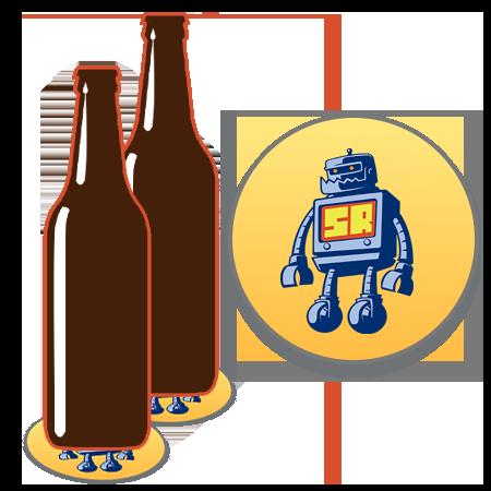 Beer Coaster Sticker