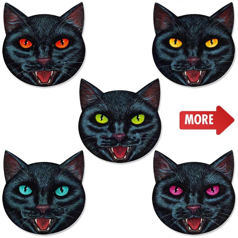 Casey Weldon Cat Stickers