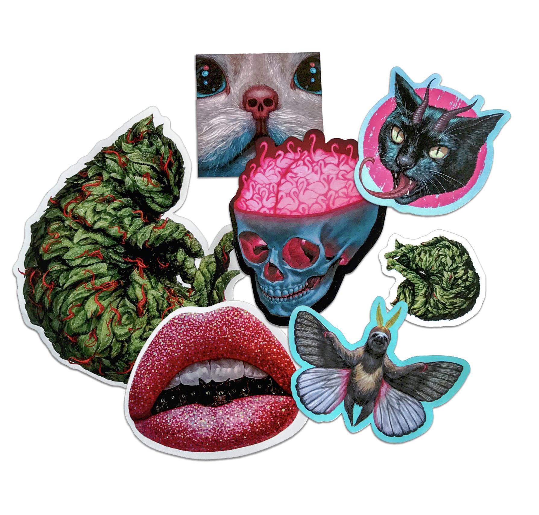 amazing diecut stickers