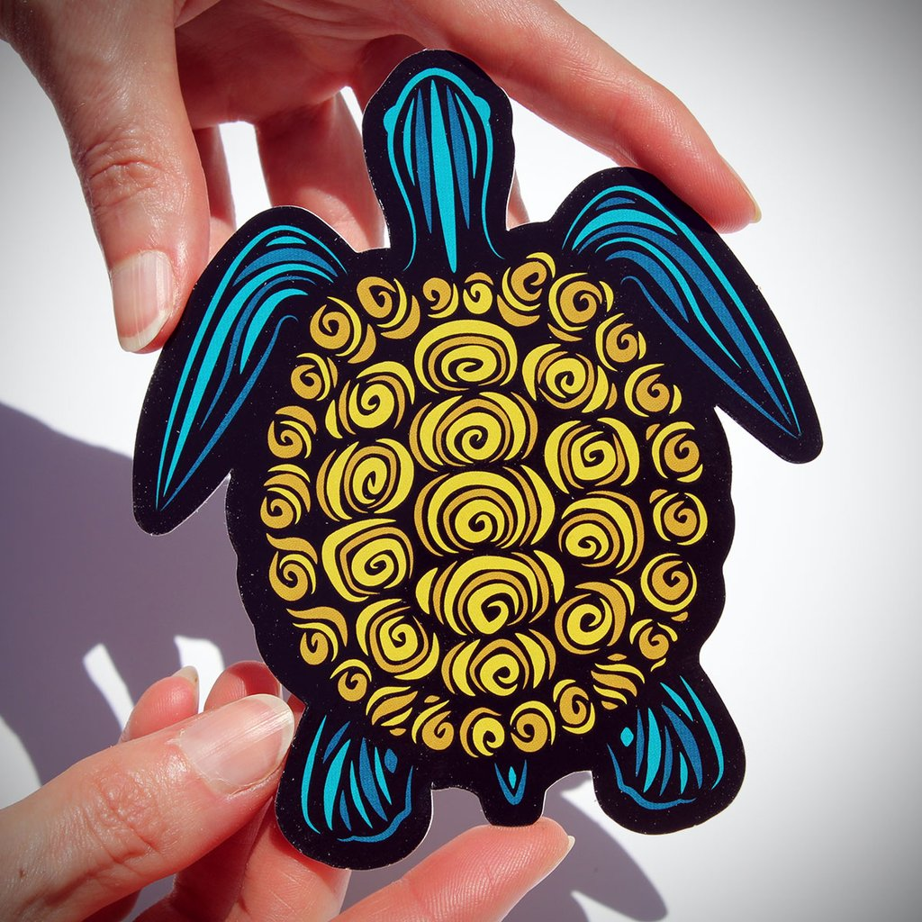 Todd Slater Turtle Sticker
