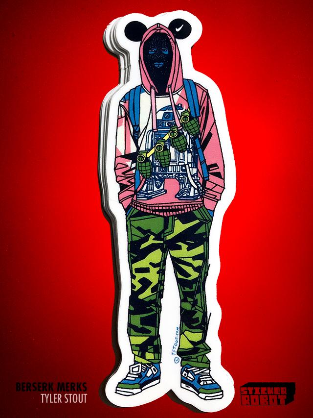 False Dmitry IV - Tyler Stout Die Cut Sticker