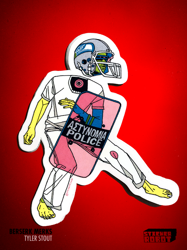 Seaclops - Tyler Stout Die Cut Sticker