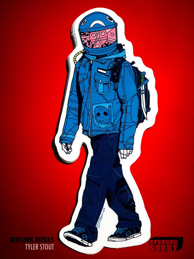The Host - Tyler Stout Die Cut Sticker