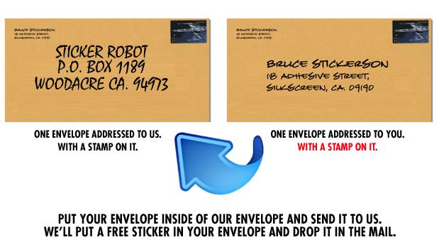 Free Sticker Giveaway!