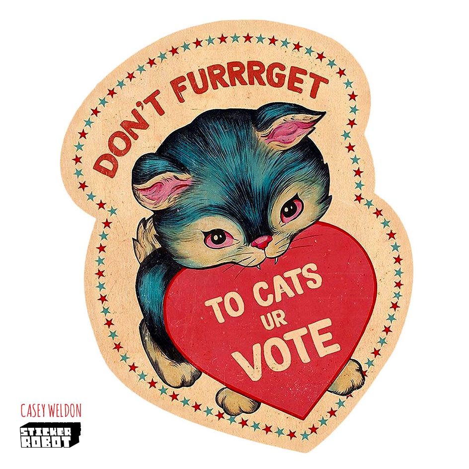 dont forget to vote stickers 2020
